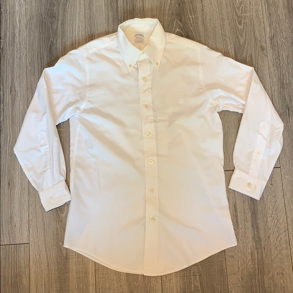 Brooks Brothers Other - Brooks Brothers Extra Slim Fit White Polo Shirt